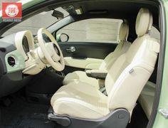 american Fiat 500 Sport in Verde Chiaro