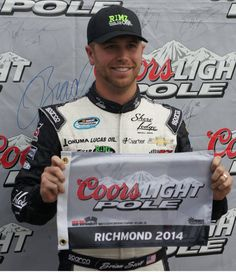 Check out these #BrianScott Richmond Statistics: Friday night's 250-lap event will mark Scott's 11th #NationwideSeries start at the .75-mile track. Scott completed 2,336 of 2,503 laps (93.3 percent) with two top-five and two top-10 finishes, an average start of 11.0 and an average finish of 21.4. Scott earned the pole position in his past two visits at the Richmond, VA. Race Track. #BrianScottStats #RichardChildressRacing #NASCAR