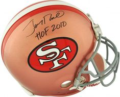 5e980ae62 Jerry Rice San Francisco 49ers Autographed Pro-Line Riddell Authentic Helmet  with
