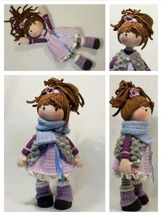 Amigurumi Doll Free Pattern —Amigurumi doll crochet free pattern Amigurumi Doll, Free Crochet, Free Pattern, Crochet Patterns, Teddy Bear, Dolls, Crochet Chart, Crochet Pattern, Puppet