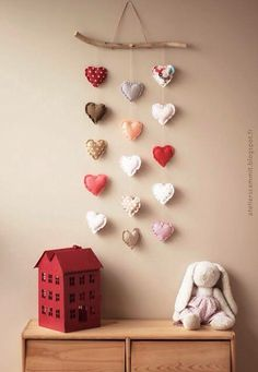 This Is So Cute. Love The Little Red House....