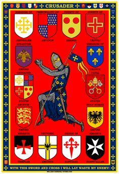 Crusader poster from williammarshalstore.com
