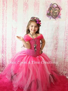 Briar Beauty Tutu Dress - Ever After High Inspired - Birthday Outfit, Photo Prop, Halloween Costume - Girls Size 2T 3 T 4T 5 6 7 8 10 12 on Etsy, $59.99