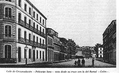 La calle Policarpo Sanz desde el cruce de la calle Colón, sobre el año 1900.... Carlos J. Soto Soto Vigo antiguo