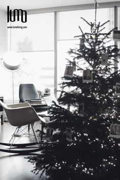 This Christmas, create your space with an Eames Rocking Chair -  Now available in Mexico www.lumoliving.com