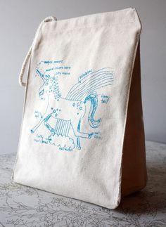 Lunch box.  #bento #lunch #lunchbox #box #cute #Etsy #unicorn #handmade #fantasy #magic