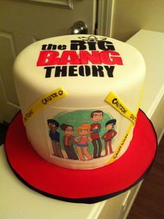 The Big Bang Theory Cake by artmojo1975