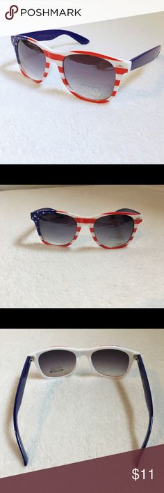 f3ea0b7b991 Cute American flag plastic sunglasses. Brand new in packaging.   sunglasses