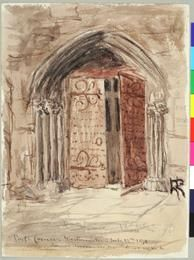 Inch Print - High quality print (other products available) - Poet& Corner, Westminster Abbey (Doorway) Moore, James 1819 - Date: 1870 - Image supplied by Mary Evans Prints Online - Photo Print made in the USA Westminster Abbey, National Museum, Heritage Site, Doorway, Northern Ireland, Wonderful Images, Poster Size Prints, Photo Mugs, Online Printing