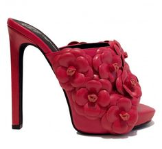 Jeffrey Campbell Roberts-Fl in Red at Joanna Paige