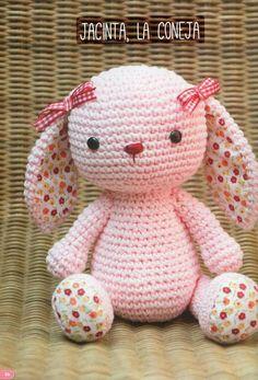 68 Patrones de amigurumi en español Crochet Pony, Bunny Crochet, Pikachu Crochet, Kawaii Crochet, Easter Crochet, Crochet Doll Pattern, Crochet Patterns Amigurumi, Cute Crochet, Amigurumi Doll
