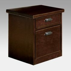 Have to have it. kathy ireland Home by Martin Tribeca Loft 2-Drawer Filing Cabinet - Cherry $320