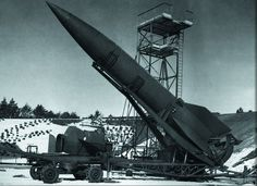 The Nazi V-2 Rocket, A Breakthrough in Modern Warfare: The V-2 rocket is one of the most famous Nazi weapons of World War II. It was the world's first long range ballistic missile, as well as the first time people were able to fire a weapon int...
