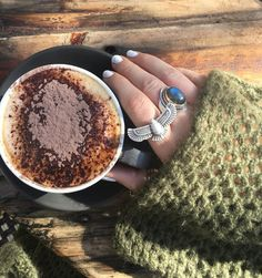It's coffee o'clock in the new Bijou WANDERLUST Knit  I don't think this one is ever coming off! Available in store & online now  http://ift.tt/1kqYGi7
