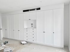 Shaker hinged door wardrobe by Impressive Wardrobes. Phone us on 9796 1022 for a free measure and quote. Let us design and create your wardrobe solution. Sliding Wardrobe Doors, Built In Wardrobe, Outside Furniture, Home Furniture, Wardrobe Solutions, Bedroom Closet Design, Types Of Furniture, Apartment Interior, Locker Storage