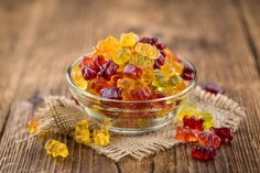 Patients with gastrointestinal issues like Chron's disease often find they benefit most from gummies, because they are broken down in the intestinal tract, where inflammation from Chron's occurs. Eat Fruit, Fruit Snacks, Weed Butter, Hemp Recipe, Healthy Desserts, Healthy Recipes, Pop Up Dinner, Snacks Saludables, Cherry Tart