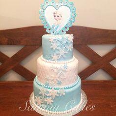 Frozen birthday cake, Elsa, Frozen Party Ideas
