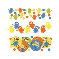 Despicable Me Minions Party Confetti Table Sprinkles Triple Pack 34g Despicable Me http://www.amazon.com/dp/B00RQFJFTO/ref=cm_sw_r_pi_dp_GbEAvb1BX2FGW
