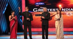Amitabh Bachchan & Madhuri Dixit @ THE GREATEST INDIAN Grand Finale