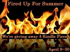 Just A Giveaway: 4 Chances To Win A Kindle Fire 4/9- 4/30