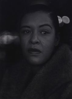 Billie Holiday, ca. 1955 (Roy DeCarava)