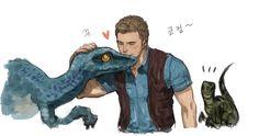 Jurassic World - You're My Girl, Blue!