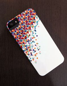 """iPhone 5 Case - """"Funfetti 2: Electric Boogaloo"""" Graph Drawing $40.00, via Etsy."""