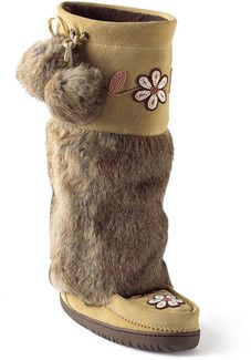 Ladies Manitobah Mukluks Metis Tan