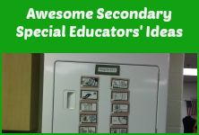 This board is all about great ideas for teachers working with students in middle and high school special education. @Christine Reeve-Autism Classroom News