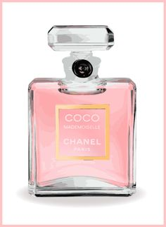 Chanel Perfume by CreativePrintsByNV on Etsy