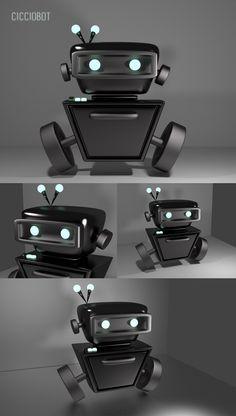 #3D #cicciobot #blender #paolademuro