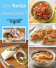 Try a little more fiesta and less siesta! These Mexican-themed dishes are guaranteed to have your party hopping. Cheese lovers will crave these cheesy Mexican recipes and your family will be wishing it was Cinco de Mayo every day. Quesadillas, Enchiladas, Appetizer Recipes, Appetizers, Mexican Kitchens, Taco Salads, Mexican Food Recipes, Ethnic Recipes, Cheese Lover