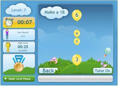 Our newest game is a Multiplication & Division game - very helpful for those girls who are working toward memorizing their math facts!