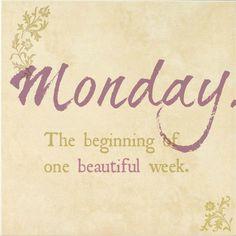 Monday...:)