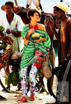 AFROKLECTIC — GLOBAL VIEW, MARIE CLAIRE AUSTRALIA, NOVEMBER...