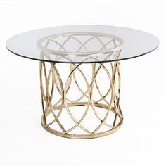 Jeffan Dining Table Gold