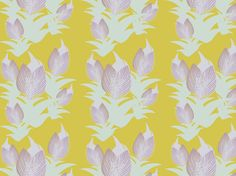"""ICELANDIC TULIPS"" by clairyfairy. Bedding in organic cottons. Cushions in linens. Upholstery in heavy duty twill."