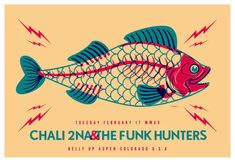 Discover more about Chali 2na and the Funk Hunters Aspen 2015 Concert Posters, Music Bands, Hunters, Aspen, Design, Art, Art Background, Kunst