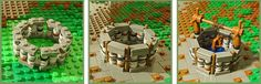 LEGO Castle Village-Well by Derfel Cadarn