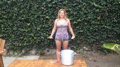 Watch Becca Frucht Do the Ice Bucket Challenge for ALS!
