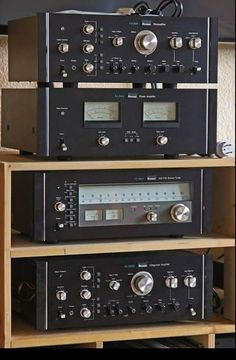 Sansui 'rack' ... the Definition Series were and still are amazing audio components from the mid to late 70's. The design is timeless, the sound is sublime.