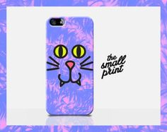 CAT iPhone 6 Case, cartoon cat  iPhone 6 case, neon iPhone 6 case, tie dye, silly iphone case, new case for iphone 6, fun iphone case