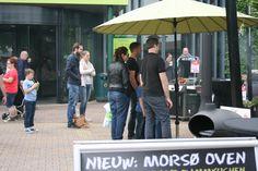 Demonstratie van de Morsø Forno.