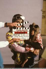 Michael Jackson & Bubbles photo for Leave Me Alone