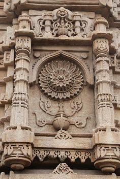 india - gujarat #architecture #lotus #motif