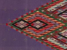 Saltillo Serape Date: 1860–1900 Geography: Mexico, Mesoamerica Culture: Saltillo Medium: Wool, cotton, metal