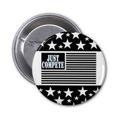 JUST COMPETE Round Button
