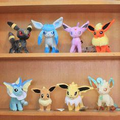 Anime Pokemon Leafeon Glaceon Eevee Jolteon Vaporeon Flareon Plush Doll Stuffed Toys 8 styles on Aliexpress.com | Alibaba Group