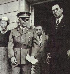 Los últimos Fascistas El caudillo español Francisco Franco y el caudollo argentino Juan Perón