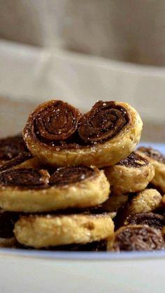 Preparar esse palmier de chocolate é simples e delicioso, além de ser perfeito para receber as visitas em casa.